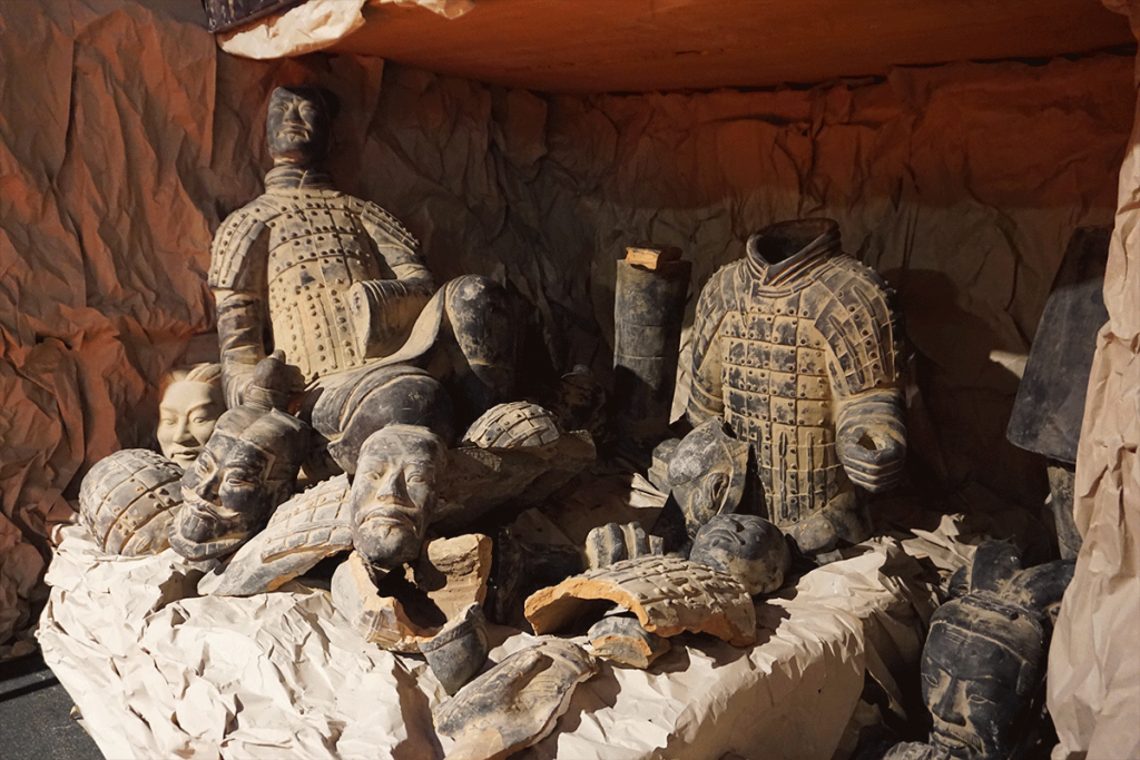 More then 80 unique statues of the Terracotta Army.
