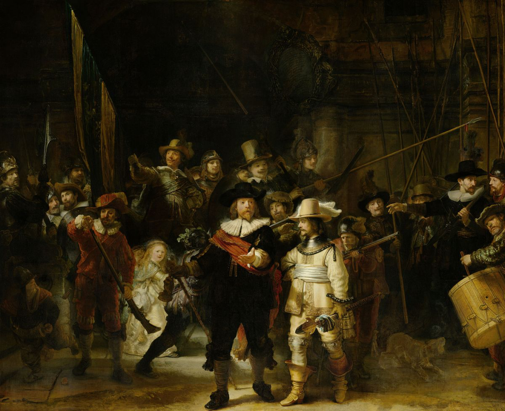 The Nachtwacht by Rembrandt.