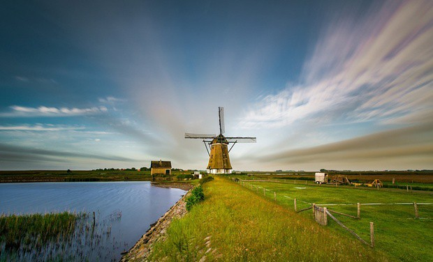 Also windmills to see at the isle Texel.
