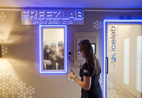 feel the healing power of cryotherapy