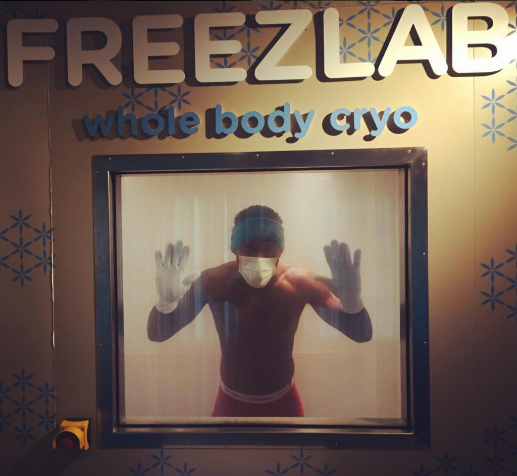 lovely refreshing cryotherapy